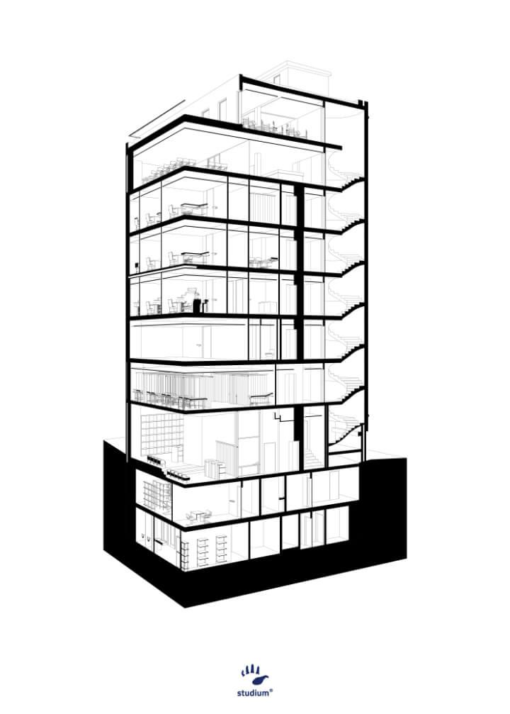 LiGA . edifício